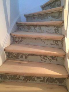 Geschliffene Treppenstufen